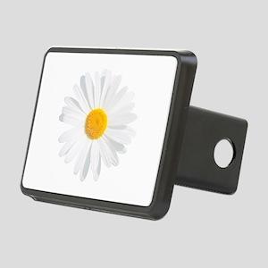 fresh white daisy Rectangular Hitch Cover