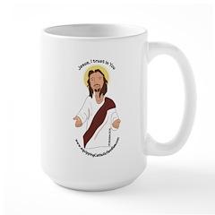 Jesus, I trust in You Mugs