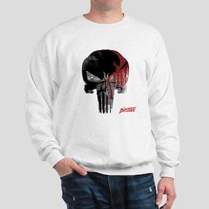 Punisher Skull Bloody Sweatshirt