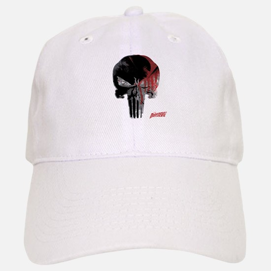 Punisher Skull Bloody Baseball Baseball Cap