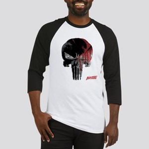 Punisher Skull Bloody Baseball Jersey