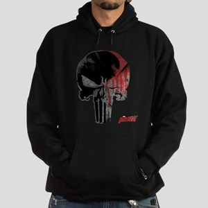 Punisher Skull Bloody Hoodie (dark)