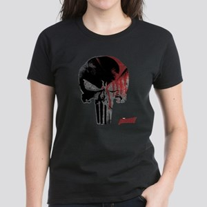 Punisher Skull Bloody Women's Dark T-Shirt