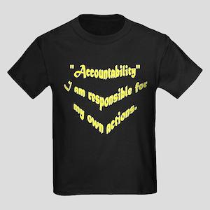 Accountability Kids Dark T-Shirt