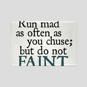 Jane Austen Run Mad Magnets