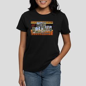 New Orleans Louisiana Greetings Ash Grey T-Shirt