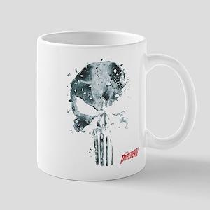 Punisher Skull Glass Mug