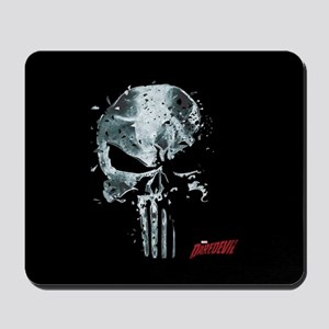 Punisher Skull Glass Mousepad
