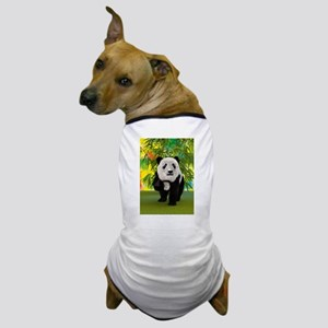 3D Rendering Panda Bear Dog T-Shirt