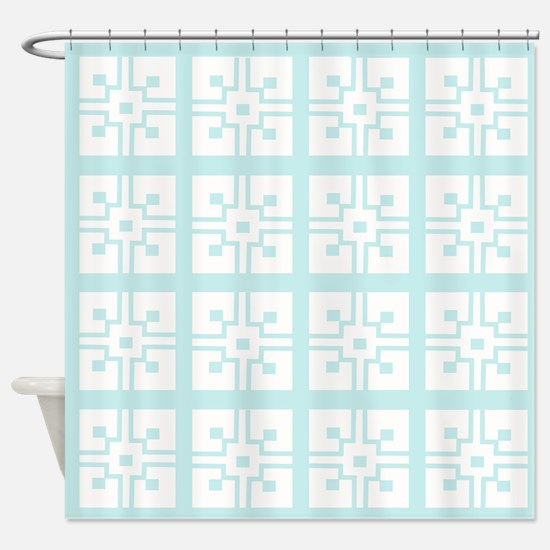 Mexican Tile Shower Curtain