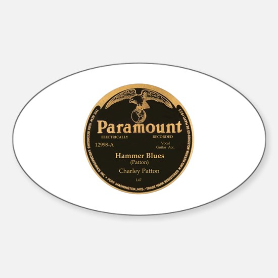 Cute Paramount Sticker (Oval)