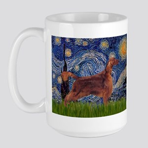 Starry / Irish S Large Mug