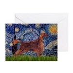 Starry / Irish S Greeting Cards (Pk of 20)