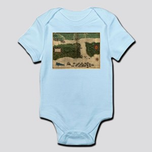 Vintage Map of St. Augustine Florida (15 Body Suit