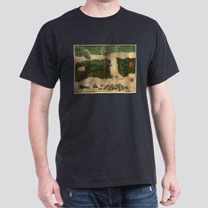 Vintage Map of St. Augustine Florida (1589 T-Shirt