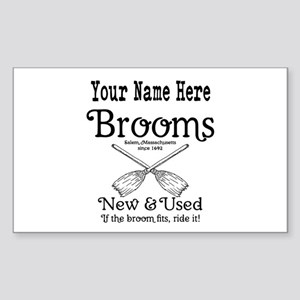 New & used Brooms Sticker