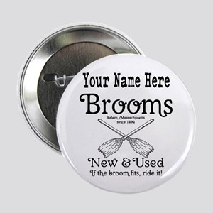 """New & used Brooms 2.25"""" Button"""
