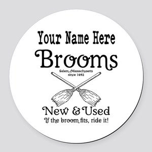 New & used Brooms Round Car Magnet