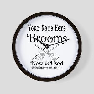 New & used Brooms Wall Clock