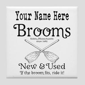 New & used Brooms Tile Coaster