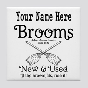 New & used Brooms Tile Coaster