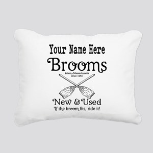 New & used Brooms Rectangular Canvas Pillow