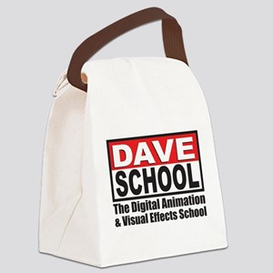 Dave Logo Canvas Lunch Bag