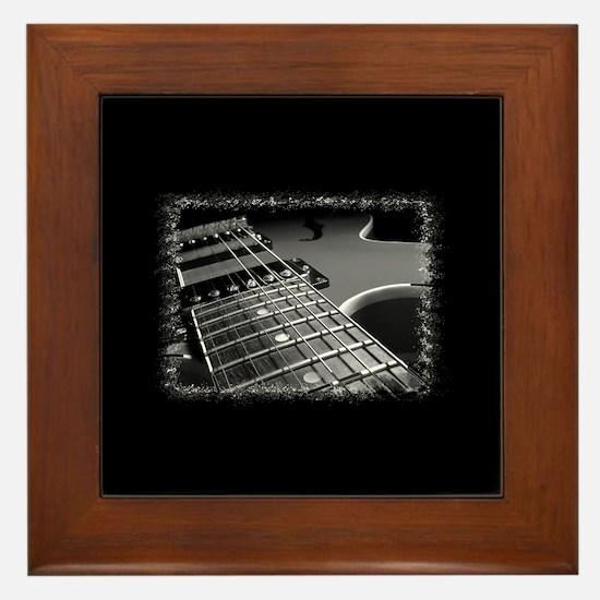 Electric Guitar 1 Framed Tile