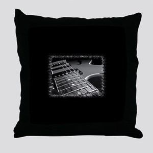 Electric Guitar 1 Throw Pillow
