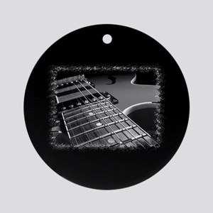 Electric Guitar 1 Ornament (Round)