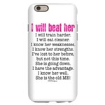 """I Will Beat Her"" Iphone 6/6s Slim Case"