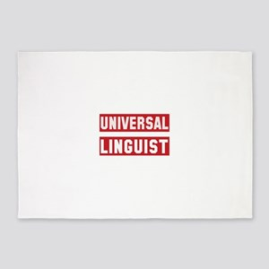 Universal Linguist 5'x7'Area Rug