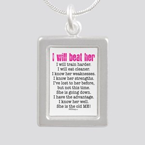 I Will Beat Her Necklaces