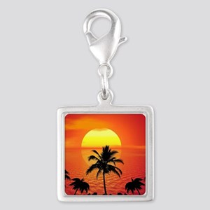 Tropical Sunset Holiday Charms