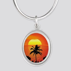 Tropical Sunset Holiday Necklaces