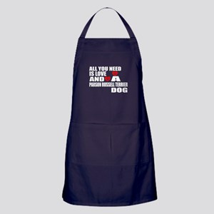 All You Need Is Love Parson Russell T Apron (dark)