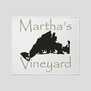 Martha's Vineyard Throw Blanket