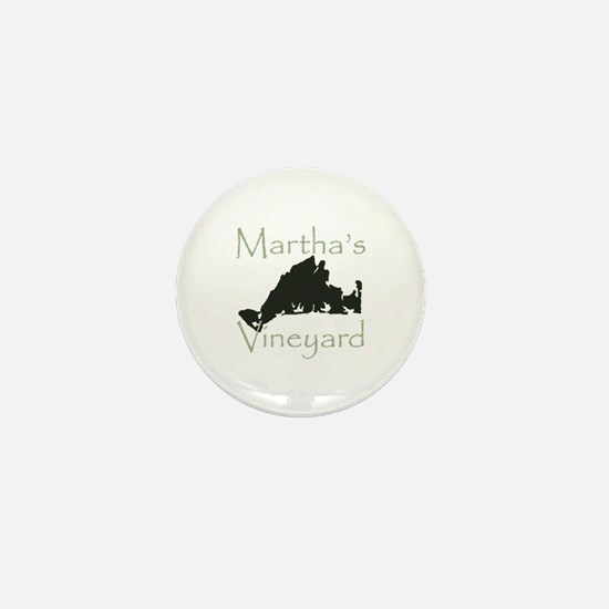 Martha's Vineyard Mini Button