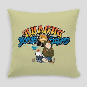 Family Guy Quahog Bomb Squad Everyday Pillow