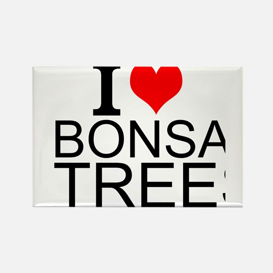 I Love Bonsai Trees Magnets