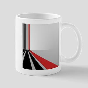Lines Red-Black Mugs