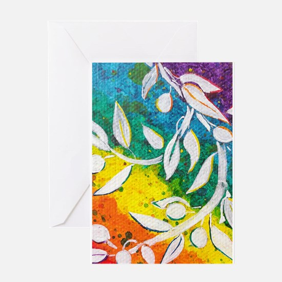 Albanian Olive Greeting Cards