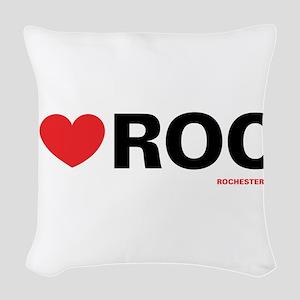 heartroc Woven Throw Pillow