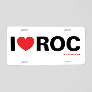 heartroc Aluminum License Plate