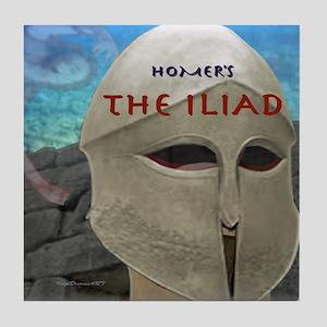 The Iliad Tile Coaster
