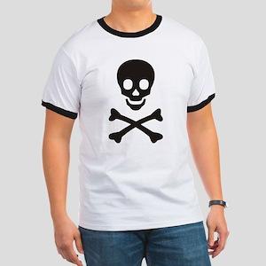 Ringer T - pirates flag
