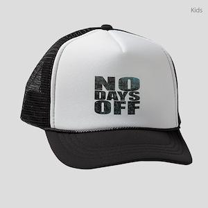 NO DAYS OFF Kids Trucker hat