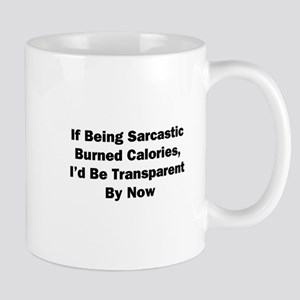 I'd Be Transparent Mug