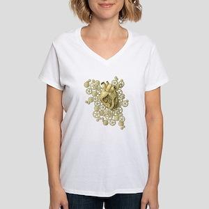 heartofbrass Women's Cap Sleeve T-Shirt