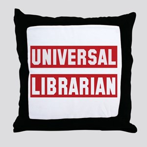 Universal Librarian Throw Pillow